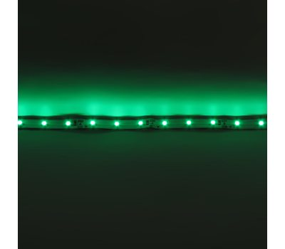 Лента 3528 60 Led IP33 Green