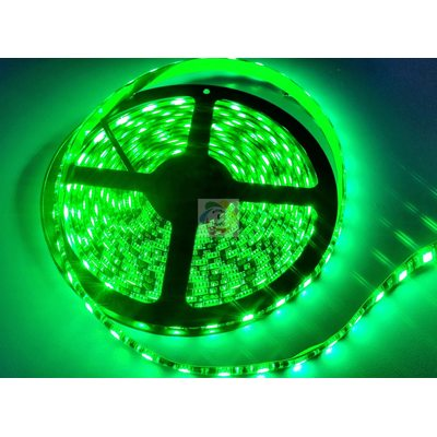 Лента 5050 60 Led IP65 Green 24V (В-класс) - Митино Свет