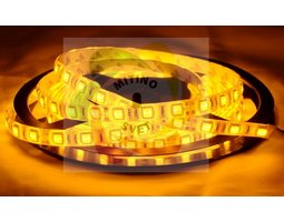 Лента 5050 60 Led IP65 Yellow (эконом класс)