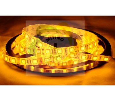 Лента 5050 60 Led IP65 Yellow (эконом класс) - Митино Свет